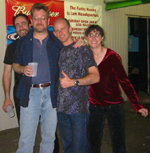 Brad, Mark T., Bob & Laurie at The Funky Munky Lounge